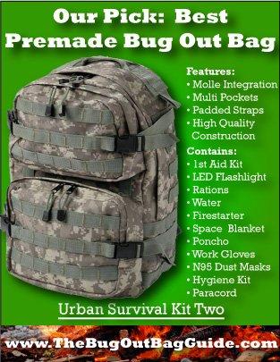 best premade bug out bag