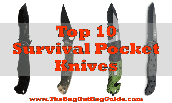 survival pocket knives