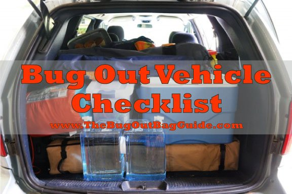 best bug out vehicle checklist