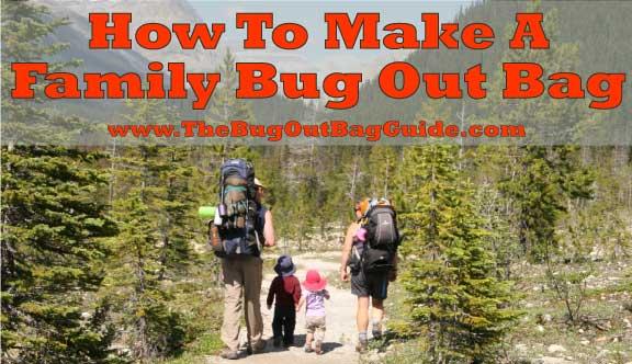 Family Bug Out Bag