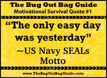 Survival Quotes To Motivate Your Prepping