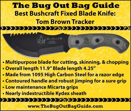 Best Fixed Blade Bushcraft Knife