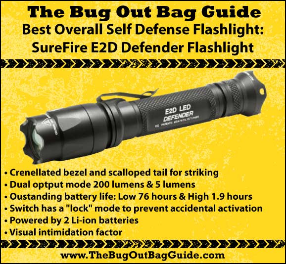 Best Self Defense Flashlight