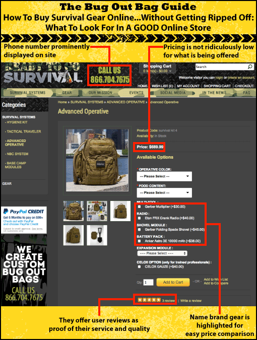 buy survival gear online