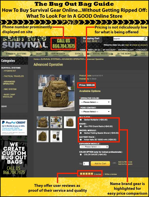 buy survival gear online