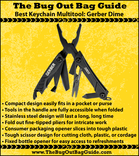 best multitool for backpacking best keychain Multitool review gerber dime tool