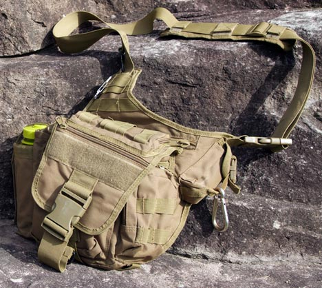 advanced tactical hip bag