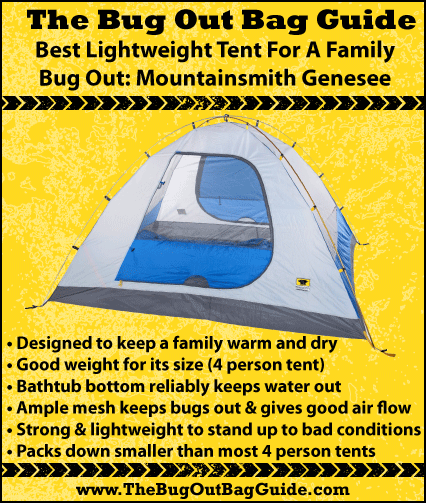 best lightweight tent  sc 1 st  The Bug Out Bag Guide & How To Choose The Best Lightweight Tent For Bugging Out