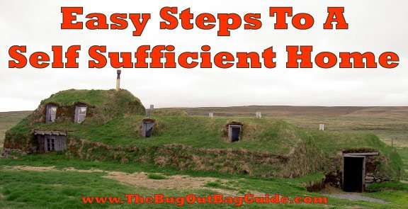 Self Sustaining Homes going off the grid - making your home self-sufficient