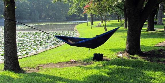 bug-out hammock
