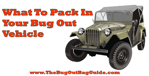 bug out vehicle gear