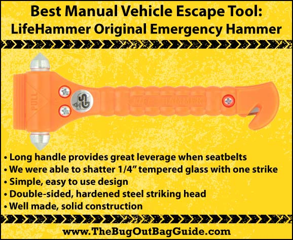 car escape tool