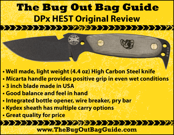 DPx hest original Knife Review