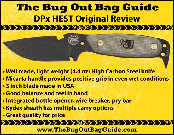 DPx hest original Knife Review