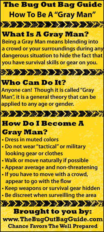 gray man theory