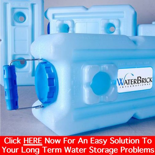 Long Term Water Storage Solutions For Survival Preparedness