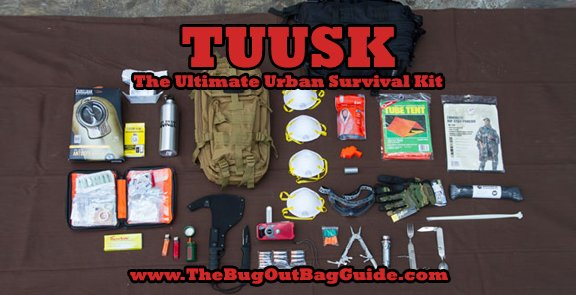 Tuusk The Ultimate Urban Survival Kit Bug Out Bag Guide