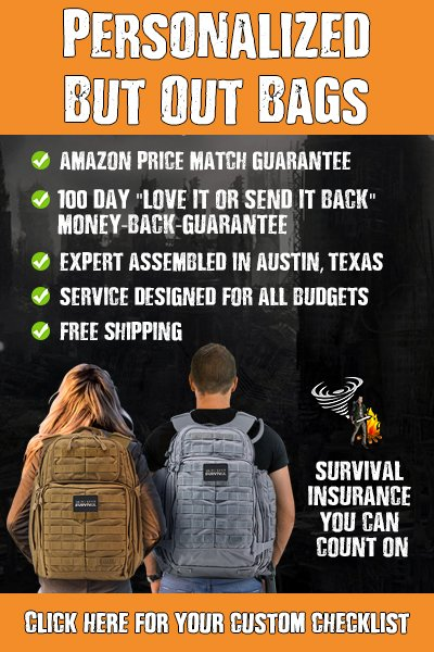 Personalized Bug Out Bag Service